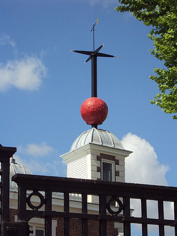 Time ball at Royal Greenwich Observatory