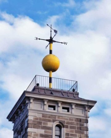 Time ball at Sydney Observatory